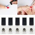 5 unids 8 ML KASACO Docai Retire Nail Liquid Art Látex Blanco cinta Fácil de Limpiar el Esmalte de Uñas Dedo Piel Protegida Líquido Empalizada
