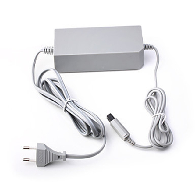 AC 110 V 240 V ue wtyczka ścienna adapter AC ładowarka zasilania dla Nintendo na wii konsola zasilania WII adapter AC