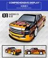 34 cm grande deriva velocidade quatro-way controle remoto carro de brinquedo do carro das crianças