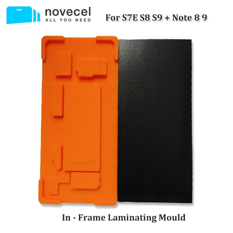 Novecel 1 inséré Dans Un Cadre Stratification Moule pour Samsung S7 bord S8 S8 + S9 S9 + Note8 Note9 Approprié pour Q5 A5 OCA Plastifieuse