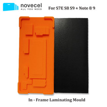 Novecel 1set In Frame Laminating Mold for Samsung S9 S8 Plus Note 8 9 S7 edge with Laminate Suitable YMJ Laminator