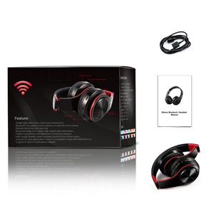 Image 5 - 패션 접이식 귀에 무선 이어폰 헤드셋 스테레오 이어폰 3.5mm 연결 포트 전화 dj mp3 스포츠 이어폰