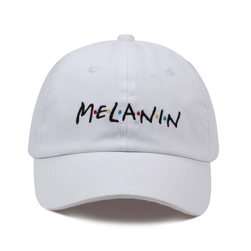2018 nueva moda unisex sombrero de papá melanina bordado algodón ajustable  gorra de béisbol sombreros de sol hombres tapas ocasionales al por mayor en  ... 2aff9fb9f13