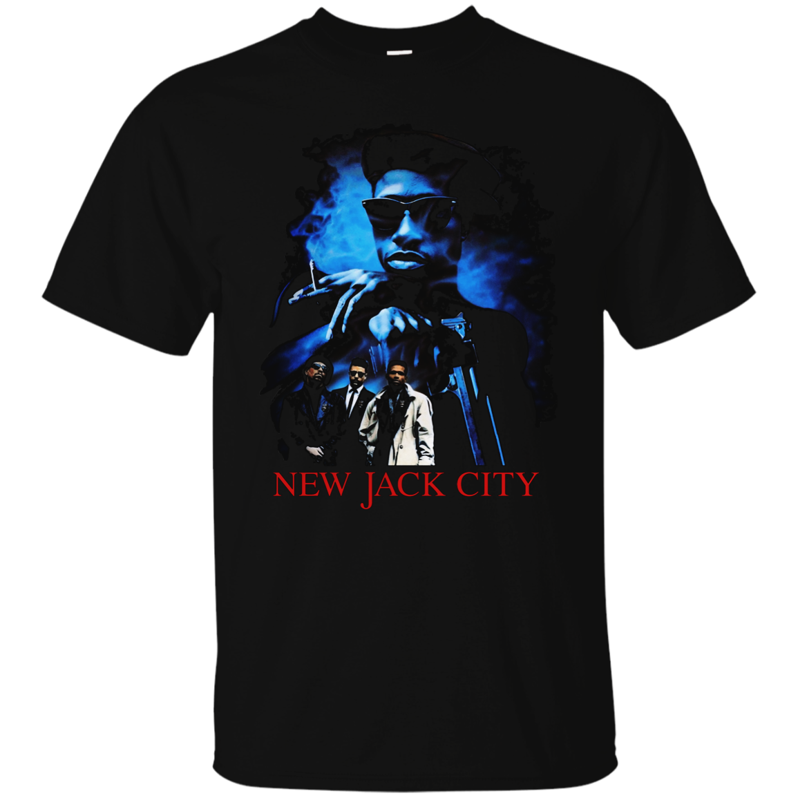 New Jack City, Wesley Snipes, Ice-T, Retro, Hip Hop, Movie, Old School, G200 Gil Summer Short Sleeves Cotton Fashion t Shirt