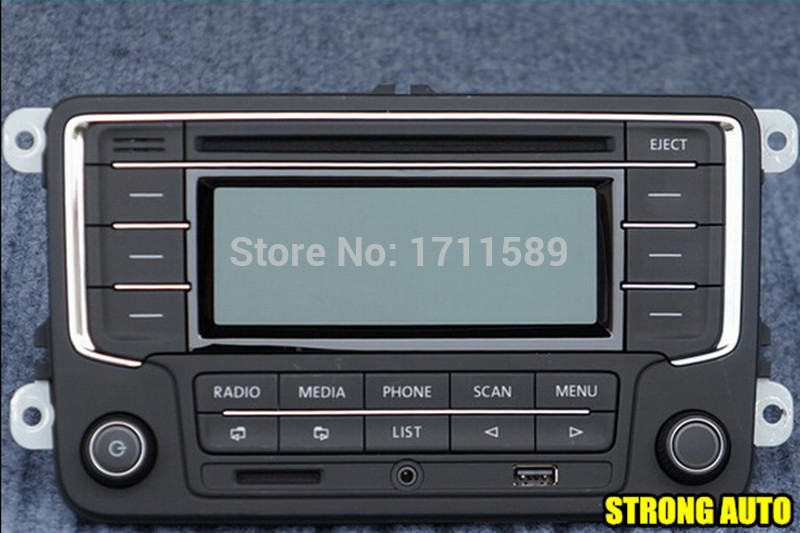 Vw Volkswagen Original Oem Car Radio Rcn210 Cd Mp3 Usb Sd Aux Rhaliexpress: Vw Volkswagen Golf Mk5 Radio At Gmaili.net