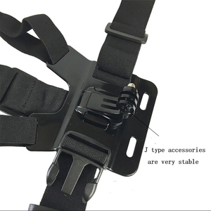 Image 4 - Universal Cell Phone Chest Mount Harness Strap Holder Mobile Phone Clip for Smartphone POV Video Outdoor GoPro SJCAM YI shooting