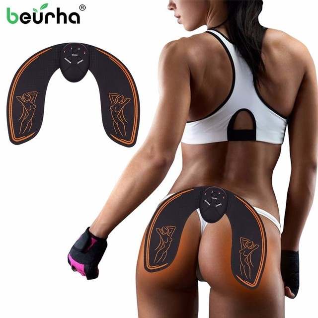 4207468364e EMS Intelligent Hip Trainer Buttocks Lifting Waist Slimming EMS Muscle  Stimulator ABS Buttock Tighter Massager With Box