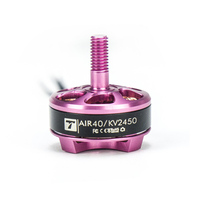 High Quality T-Motor AIR 40 2205 2450KV 3-4S Brushless Motor Pink Purple for Racing Drone RC Multicopter