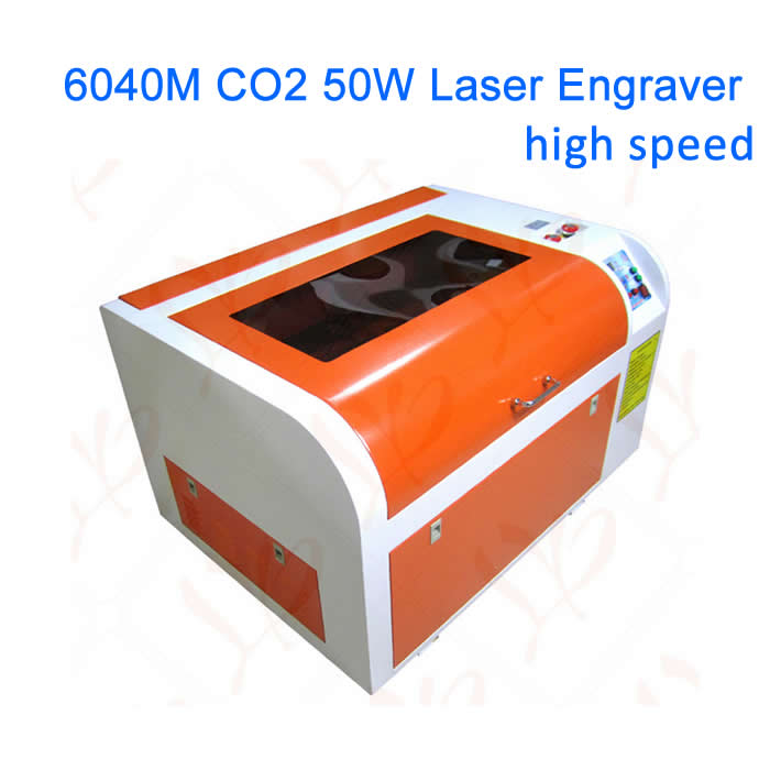 6040 CO2 laser engraving machine 6040M 50W laser tube laser cutter with rotary axis and honeycomb 4040 50w co2 laser engraver with 50w laser tube honeycomb equips to russia free tax