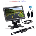 """Wireless 7"""" TFT Screen Car Monitor with 7 Infrared Lights Night Vision Reversing Back up Camera Safe scurity Parking Assistance"""