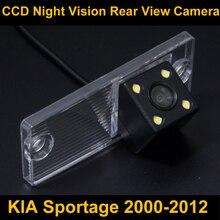 Impermeable 0Lux/4 LED Cámara de visión Trasera Cámara del Revés del Estacionamiento de Copia de seguridad para KIA Sportage 2000-2012 Coche