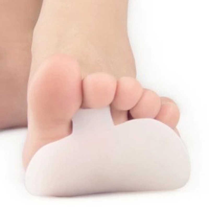 Женские 2 шт силиконовые гелевые передние стопы для высоких каблуках половина двора стелька передняя нога обезбаливающий пластырь пальцы ног вставки