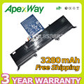 Apexway 3280mAh 11.1v laptop battery for Acer AP11D3F AP11D4F 3ICP5/65/88 3ICP5/67/90 KB1097 Aspire S3 Ultrabook 13.3 S3-951
