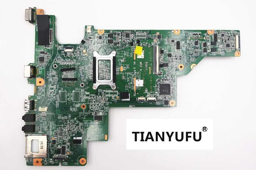 ノートパソコンのマザーボード COMPAQ CQ43 CQ57 CQ435 CQ635 マザーボードの p/N 657324-001 E300 CPU テスト 100% 作業