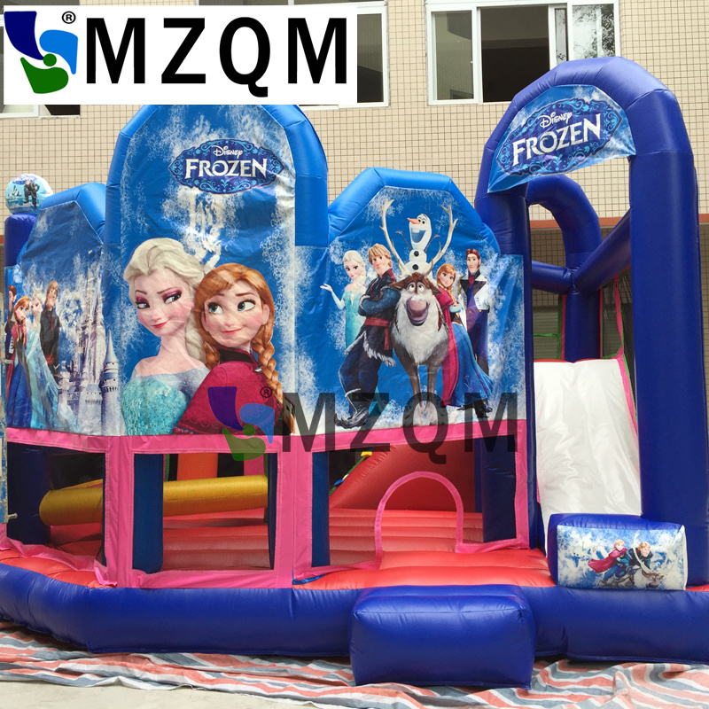 MZQ 5.5*4.5*4 Inflatable Castle Bouncy Obstacle Course Jumping House Inflatable Bouncy Trampoline all in 1 combo sports games inflatable bouncing castle house obstacle course for kids fun