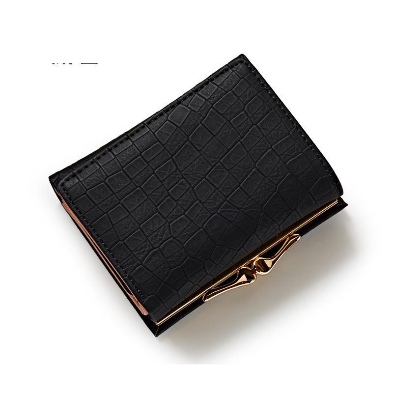 carteira de senhora da forma Interior : Photo Holder, coin Pocket, note Compartment, suporte de Cartão