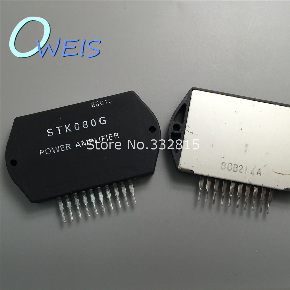 5pcs Stk080g Stk080 Stk 080g Thick Film Hybrid Ic Power Amplifier Free Shipping In Integrated Circuits From Electronic Components Supplies On