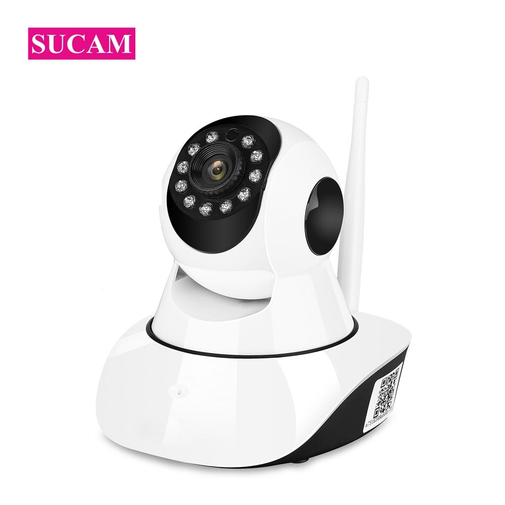 Caméra IP Wifi SUCAM 1080 P panoramique inclinaison sans fil caméra de sécurité à domicile détection de mouvement deux voies Audio SD carte Slot IR CCTV caméra 10 M IR