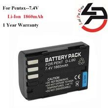 Высокое качество 1860 мАч Фирменная Новинка Замена Батарея для pentax d-li90 dli90 K-5 K-7 цифровой зеркальной K7 DSLR k7d 645d 645