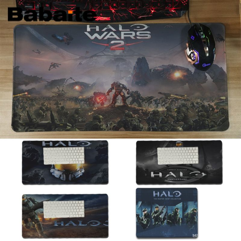 Babaite Nieuwkomers Halo 4 Aangepaste Muismatten Computer Laptop Anime Muis Mat Rubber Mouse Pad Computer Game Tablet Mousepad