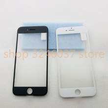 1pcs AAA+cold press 6 Outer Glass with Middle Frame Bezel Assembled Front Lens Frame+OCA For iPhone 6s 7 7P 8 plus 8P