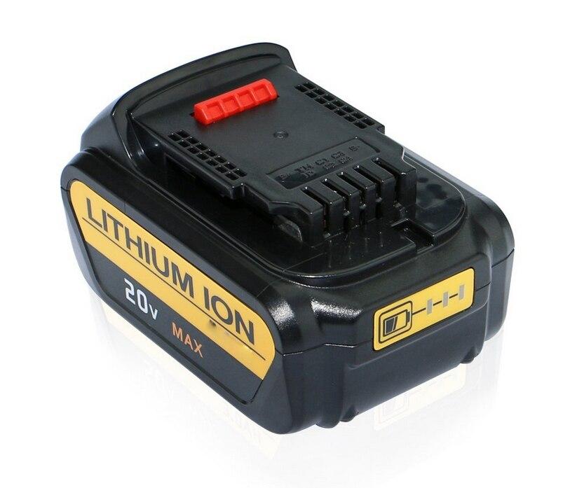 5000 mah 20 v de Plus Grande Capacité Au Lithium ion Batterie pour Dewalt DCB200 DCB204-2 DCB180 DCB181 DCB182 DCB203 DCB201 DCB201-2 DCD740