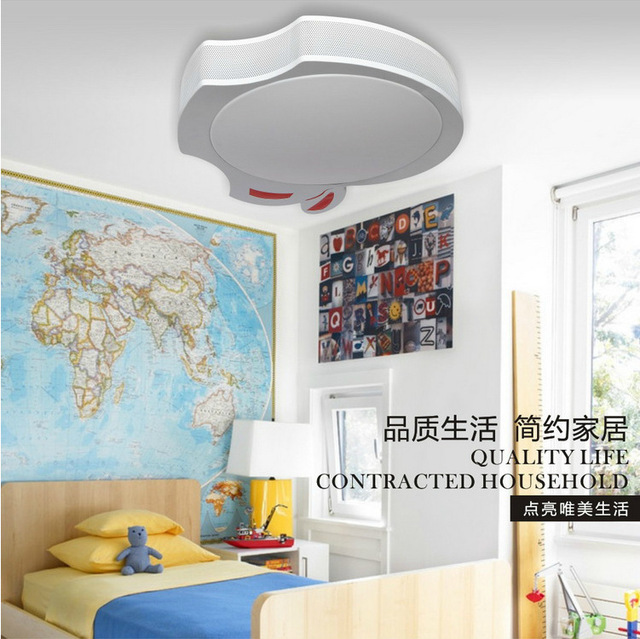 US $155.28  Luxury ceiling lamp cartoon lamp lighting LED ceiling lighting  fixtures children\'s bedroom cc lamps ceiling designs for living r-in ...