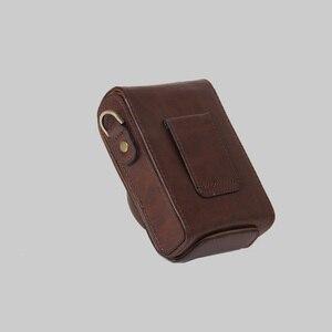 Image 4 - PU leather case Camera Bag Cover for Panasonic Lumix LX7 LX5 LX3 LX10 LX15 shoulder bag