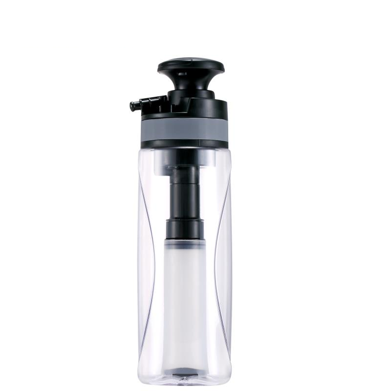 Portable Outdoor Camping Travel Emergency Water Purifier 0.1 Micron Dual Control Ceramic Filter Super Sterilization Water Cup