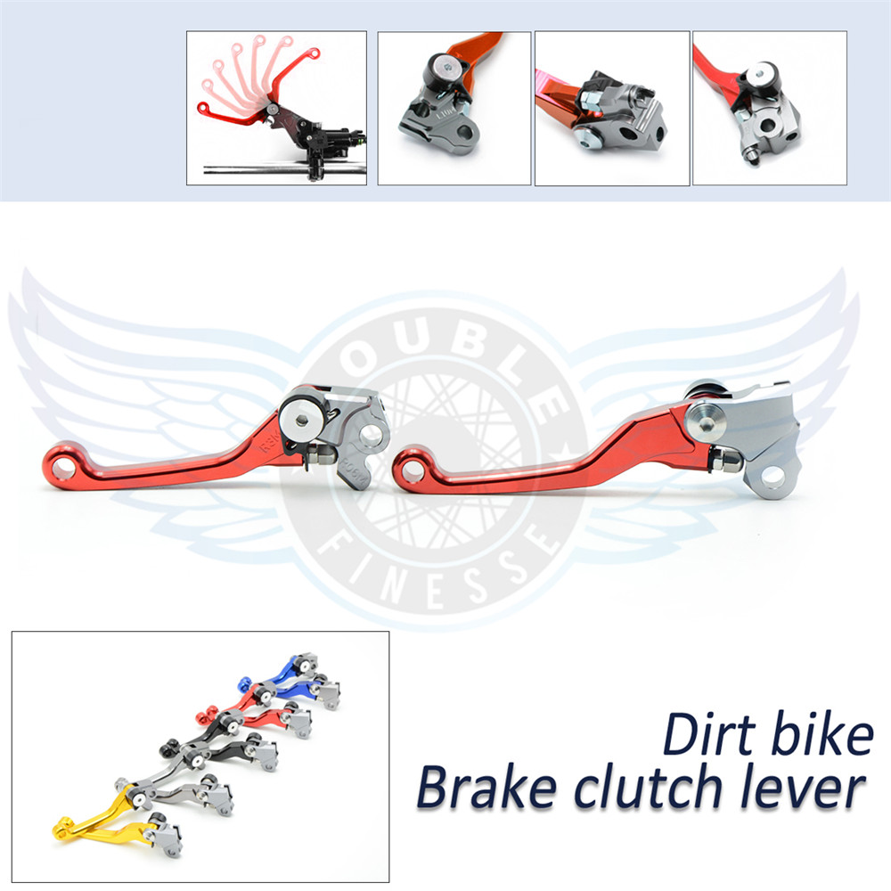 ФОТО motorcycle accessories increased torque of cnc pivot brake clutch levers For KTM 505XC-F  2009