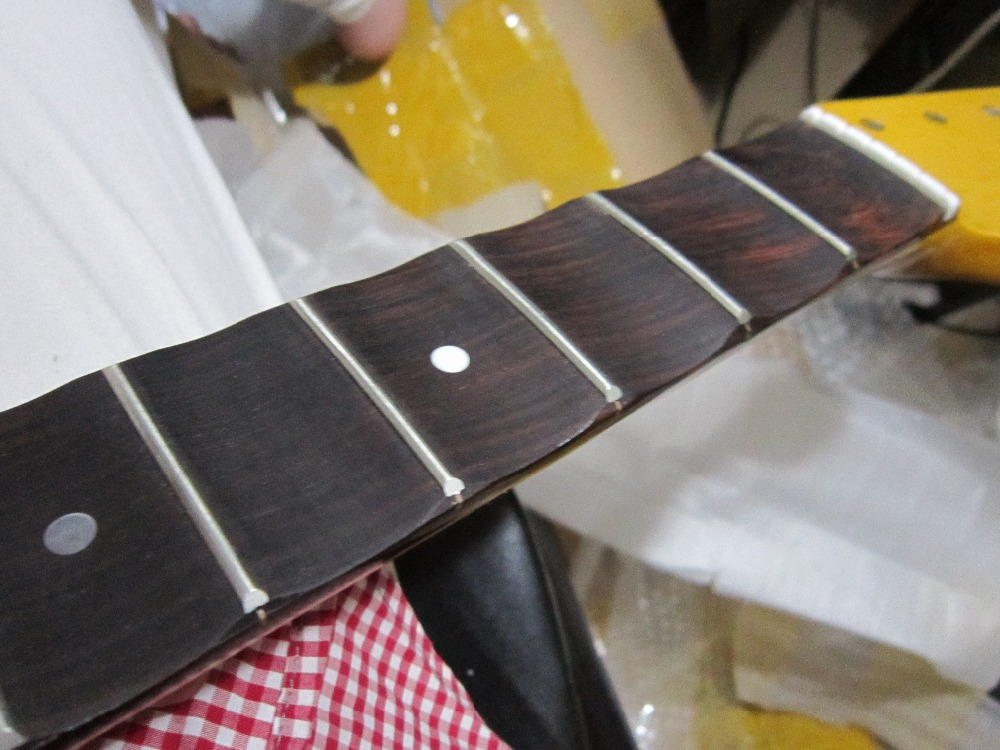 disado 21/22 Frets Big headstock Electric Guitar Neck Rosewood - Երաժշտական գործիքներ - Լուսանկար 3