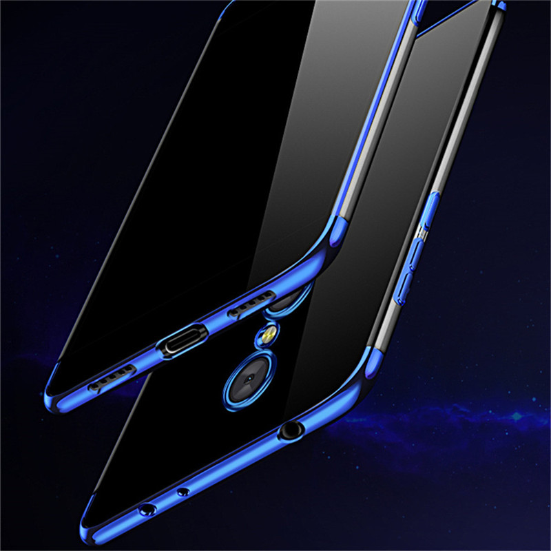 BONVAN Plating Transparent Smartphone Case for Xiaomi Redmi Note 4 4X Soft Case Ultra Thin Clear Back Cover for Redmi 4X Coupe smartphone