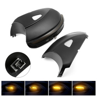 2 Pieces LED Side Wing Dynamic Turn Signal Light for VW Passat CC B7 Beetle Scirocco Jetta MK6 Rearview Mirror Indicator