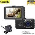 2016 Nova Novatek 2 lente DVR Carro Câmera Dupla 1080 P Full Gravador De Vídeo HD Com Câmeras de Visão Traseira Camcorder WDR BlackBox Dashcam