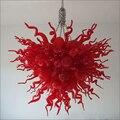 Специальный красочный заподлицо Ceicling огни ручной выдувной муранского стекла потолочные светильники Дизайнер