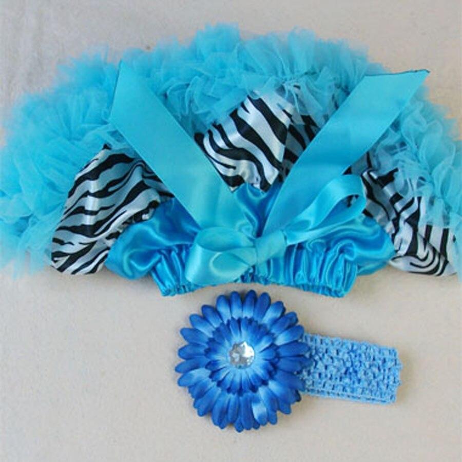 Butu одежда для малышей крещение новорожденного petti юбка повязка на голову цветные балетные пачки наборы детские фото реквизит - Цвет: Синий