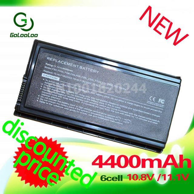 Golooloo bateria para asus a32-f5 x59 x59g x59gl x59s x59sl x59sr 90-NLF1B2000Y F5C F5GL F5M F5N F5R F5RI F5SL F5r F5V F5VI F5VL