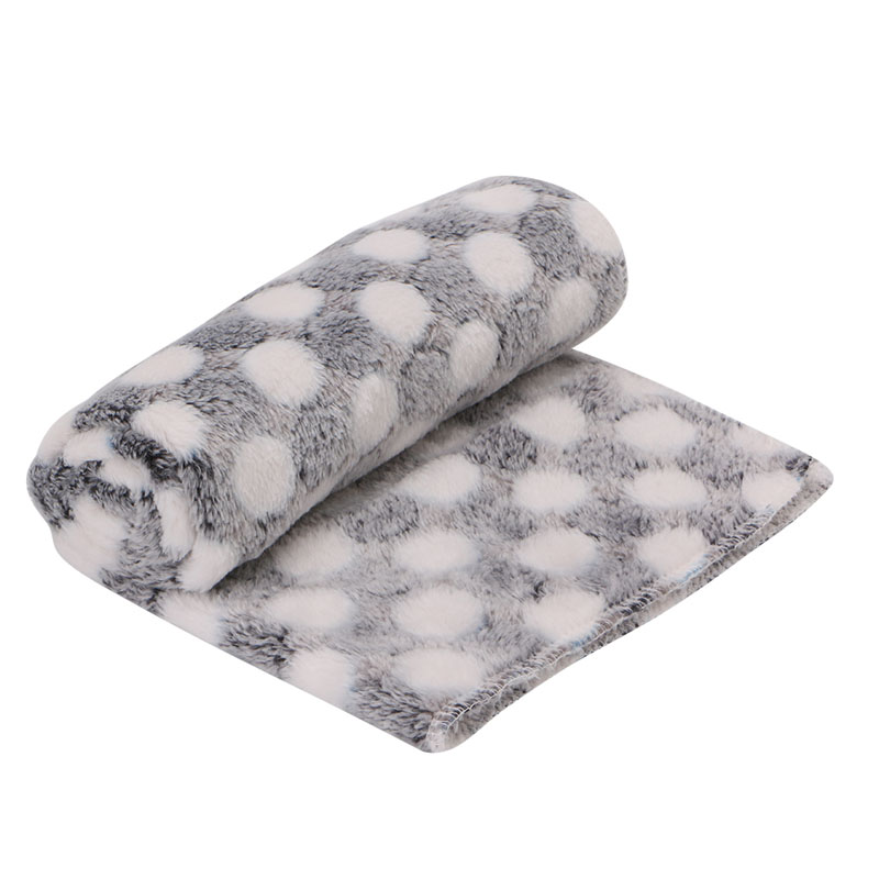 Pet Blanket Dog Puppy Kitten Cat Bed Pad Cute Animal Gift Warm Soft Flannel Mat