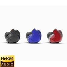 BGVP DMG 2DD + 4BA Hybrid Treiber In Ohr Kopfhörer Metall Hohe Fidelity Monitor mit Abnehmbare MMCX Audio Kabel und Drei Düsen