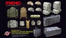Meng Model 1 35 SPS 015 Modern U S Military Individual Load Carrying Equipment plastic model