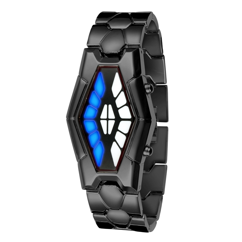 Fashion Watch Digital Luxury LED Watches Men Women Iron Creative Cobra Snake Watches Wristwatch Relogios Masculinos Feminino