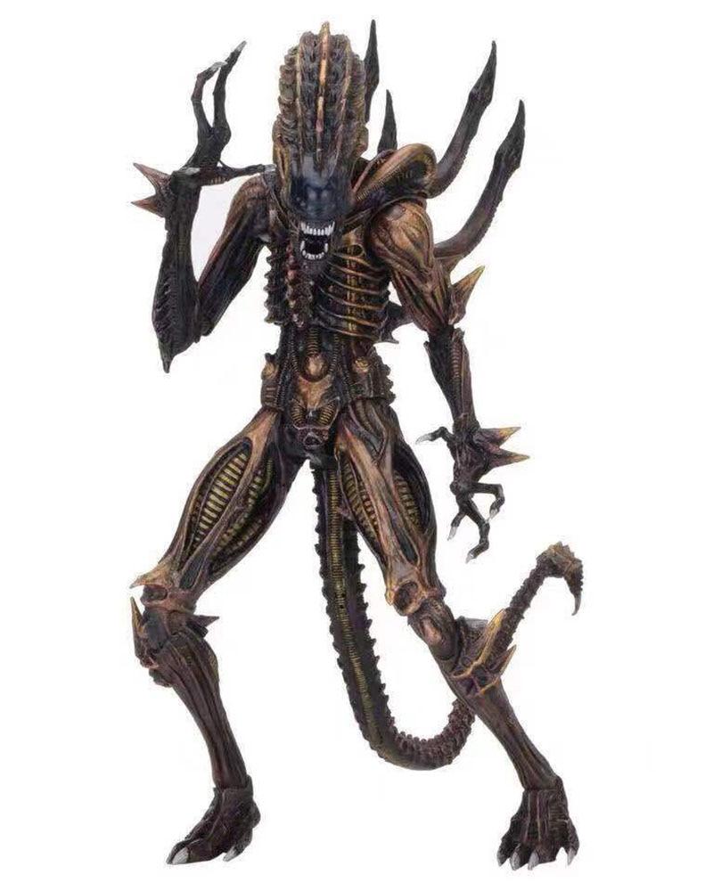 "NECA Serie 13 ALIENS VS PREDATOR Scorpione Serpente ALIEN Space Marine 7/"" Figure"