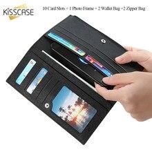 Kisscase флип чехол для iPhone 6 6 S 7 8 плюс 5S SE Samsung S8 S7 чехол Ретро из искусственной кожи кожаный чехол 6 дюймов Универсальный телефон Чехол