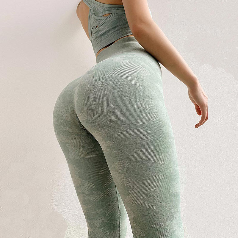 camo seamless leggings high waist seamless yoga pants workout gym leggings sport women fitness push up sports legging 1
