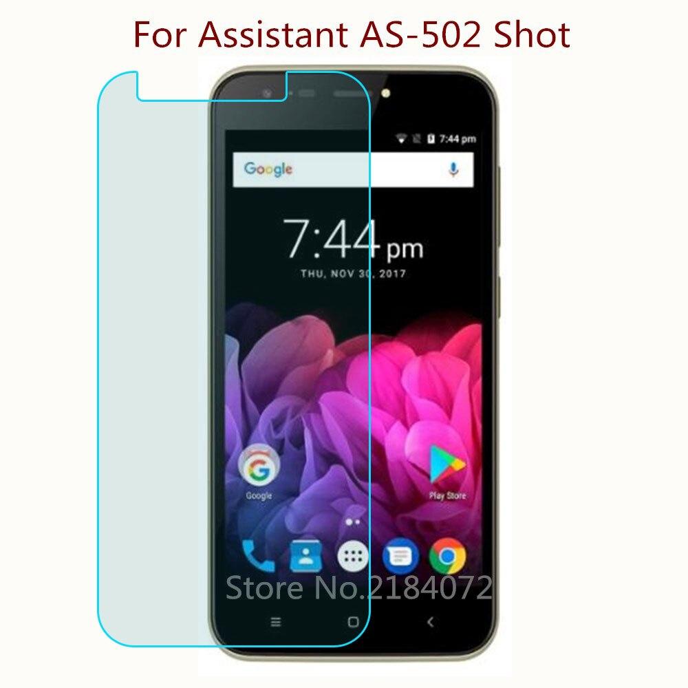9H 2.5D Защитная пленка для экрана, стеклянный телефон для Assistant AS-502 Shot Phone, закаленное стекло для смартфона, Защитная пленка для переднего экра...