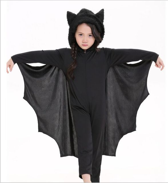 2017 3-10 Years Teenagers Cosplay Costume Girls Clothes Batman Dress Halloween Hooded Party Clothing  sc 1 st  AliExpress.com & 2017 3 10 Years Teenagers Cosplay Costume Girls Clothes Batman Dress ...