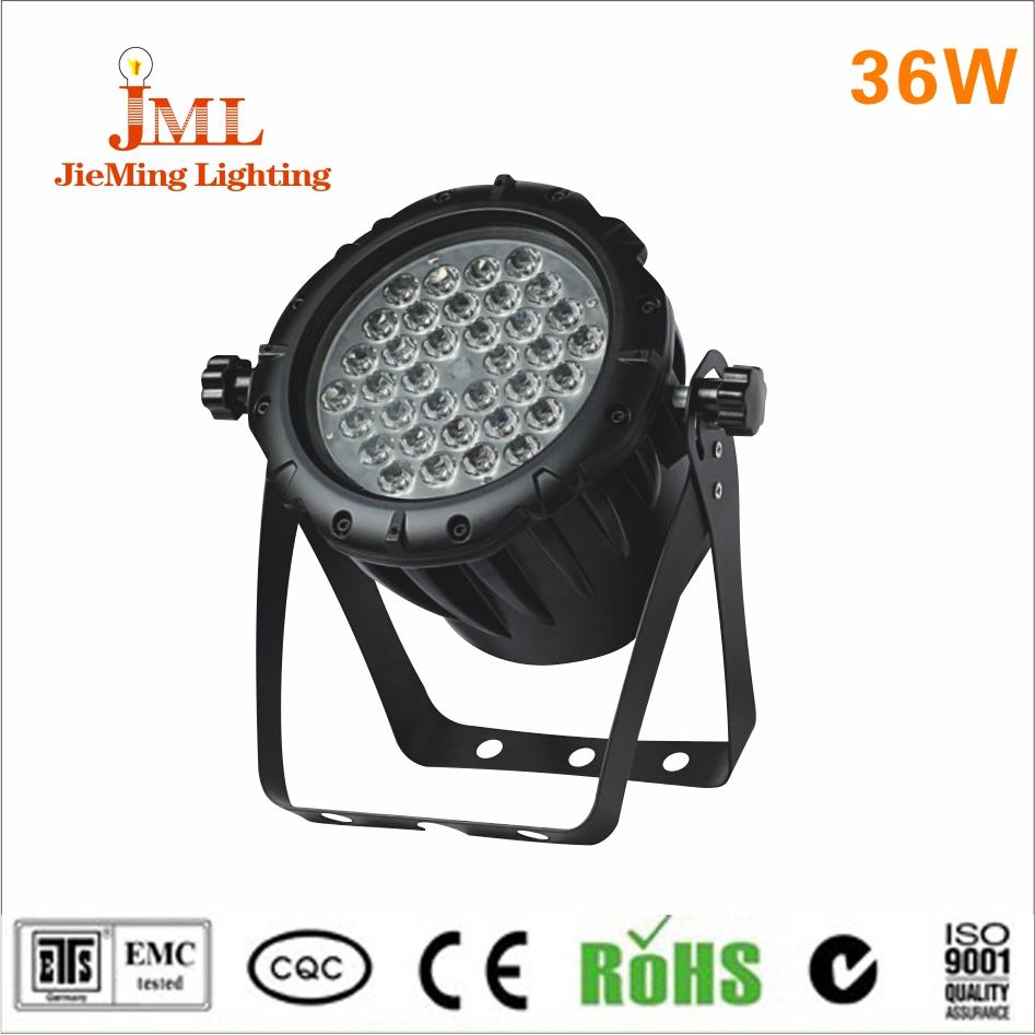IP68 Waterproof floodlight led light reflector 36W Cool Warm White Color 36LEDs Led dmx Floodlight Garden Outdoor Lighting DC24V ...