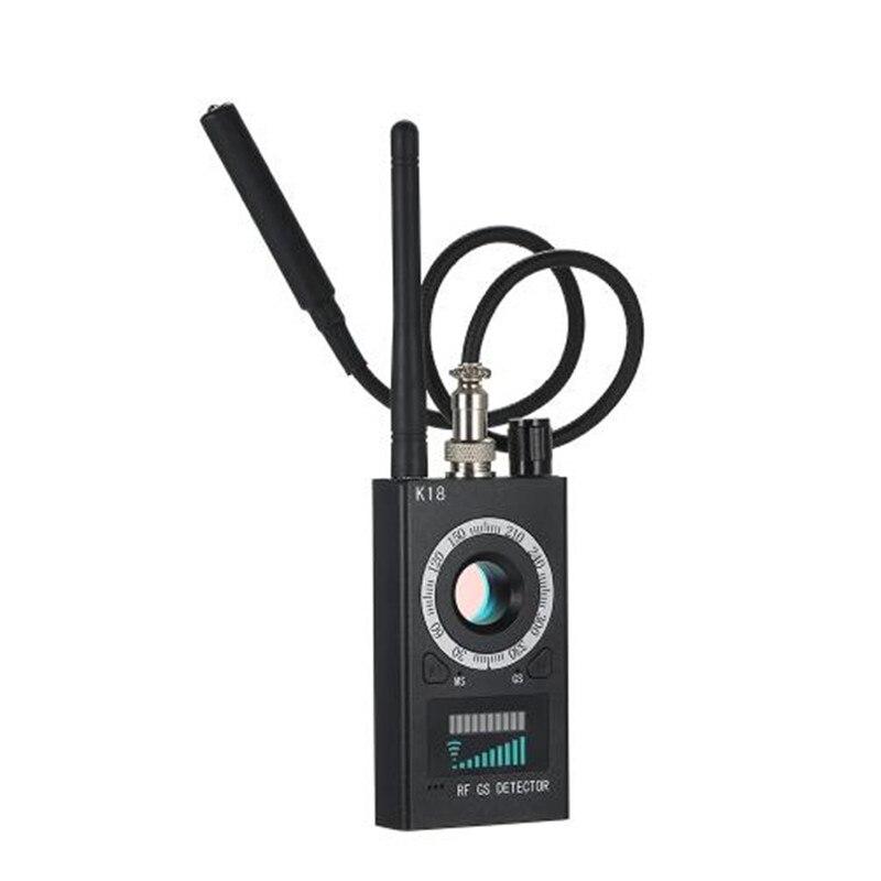 Détecteur de Scanner RF chaud caméra espion FinderBug détecteur WiFi Signal GPS GSM Radio téléphone dispositif Finder privé protéger la sécurité K18