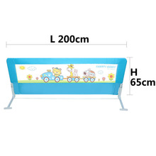 Baby Gate Sale Door Stop 2017 New 150~200cm General Use Baby Bed Fence Guardrail Crib Rails For Buffer-type Upgrade Version