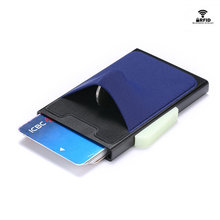 ZOVYVOL 2019 NEW Multifunction Automatic Aluminium Cards Case RFID Men Coin Wallet Slim Purse Business Hot Credit Card Holder
